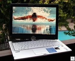 Fujitsu T5010 Tablet PC Michael Phelps JPG