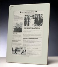 New E-Newspaper Reader Echoes Look of the Paper - NYTimes.com