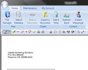 ContractPC - Electronic Document Management