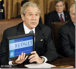 President Bush Dell Latitude XT Tablet PC