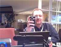 Rob with Flip Video