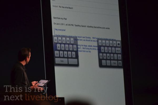 iOS 5 Grab Handles for Easier Thumb Typing