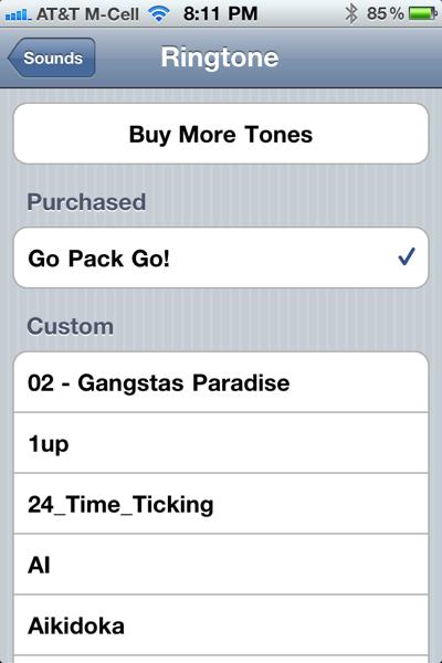 buy more tones
