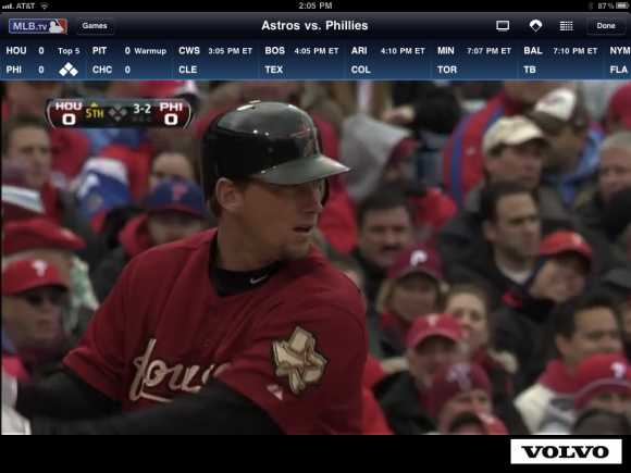 MLB At Bat 11 iPad  App