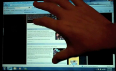 Windows 7 Multi-Touch Video