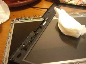 Cleaning my Tablet PC screen
