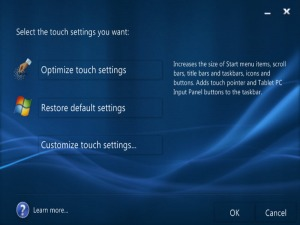 oe-touch-settings