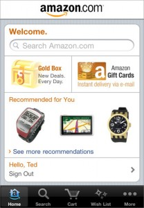 Amazon Mobile Shopping app
