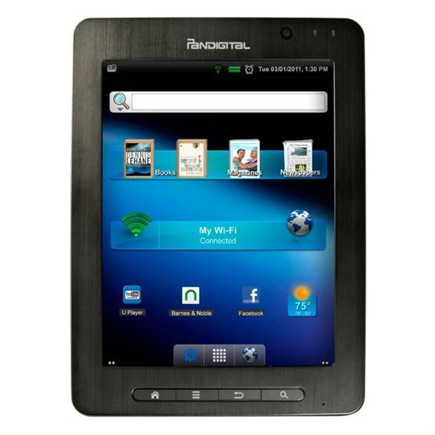 Pandigital SuperNova - 8-Inch Media Tablet