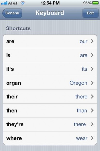 iPhone prank