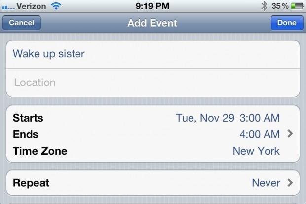 iphone alarm prank