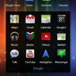 Apps on the Galaxy Nexus