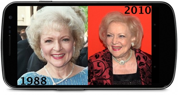 Betty White Smartphone