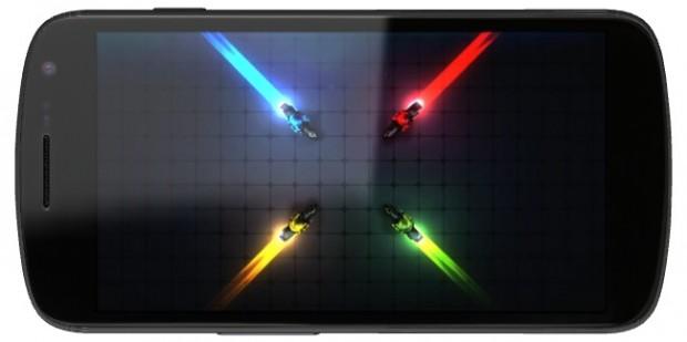 Galaxy Nexus HD Widescreen Display