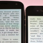 Galaxy Nexus vs iPhone 4S Display