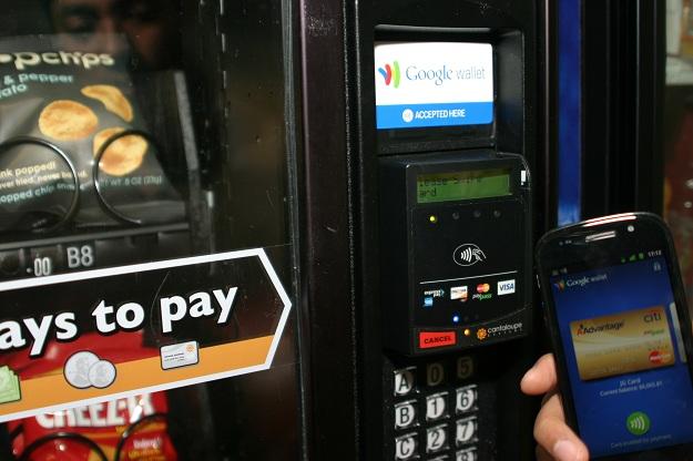 Google Wallet NFC Vending