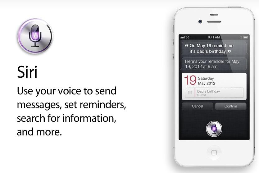 Siri on iPhone 4S