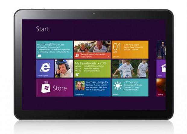 Samsung Windows 8 tablet