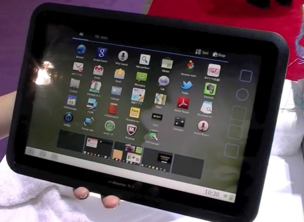 Fujitsu arrow tablet