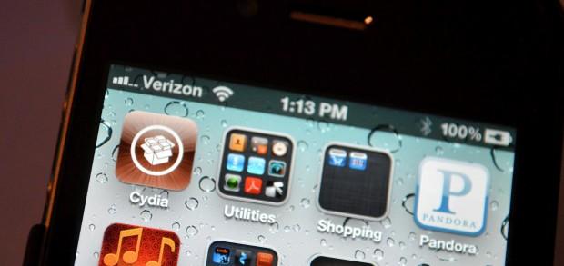 iPhone 4S Cydia Jailbroken