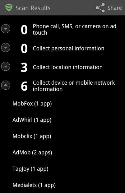 Ad Network Detector List Expanded