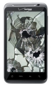Android Bullet Holes
