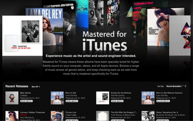 Apple Mastered for iTunes