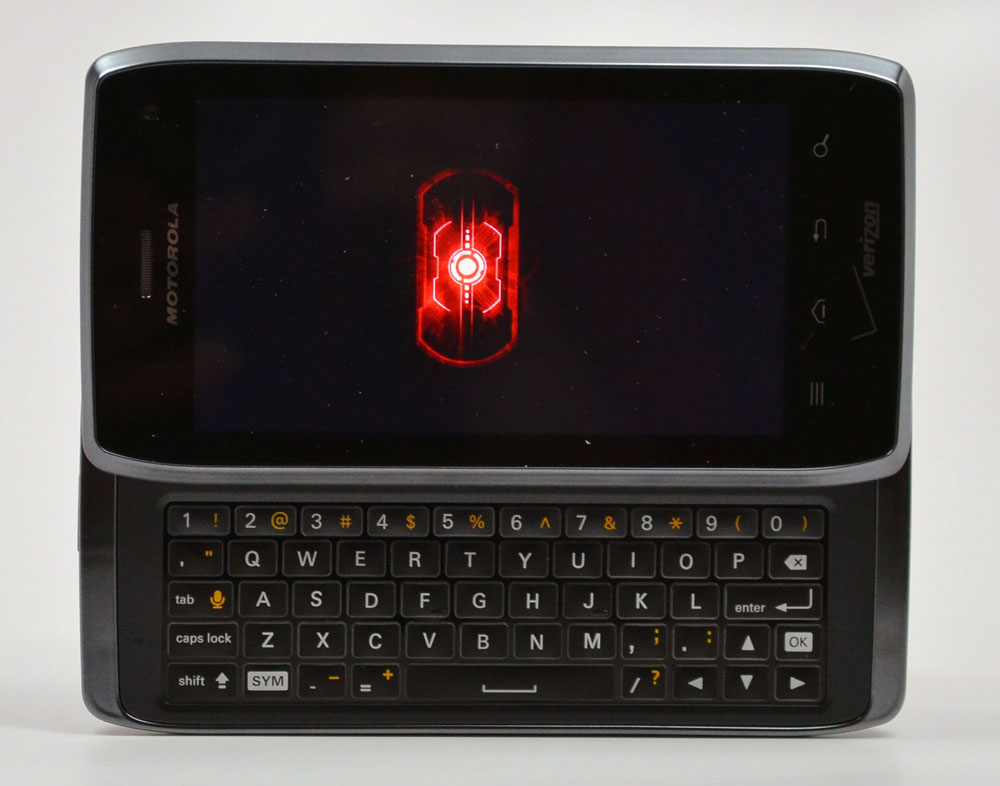 Droid 4 - 4G LTE slider with an amazing keyboard