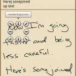 Galaxy Note S Memo Handwriting Recognition