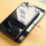 Samsung Galaxy Note and Motorola Droid RAZR