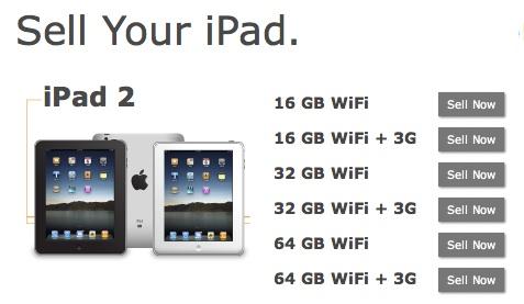 Gazelle Sell iPad