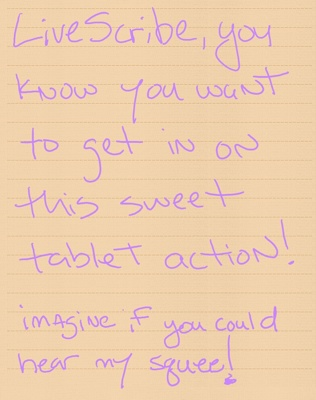 Note to Livescribe