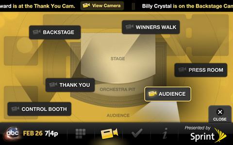 Oscars on the iPhone