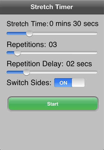 Stretch Timer
