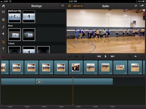 Avid Studio iPad app