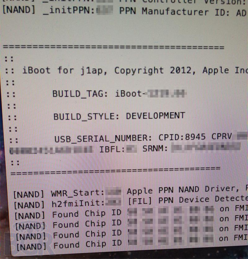 iPad 3 Photo Specs