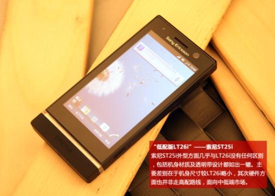 Sony Xperia U Photos Leak Ahead of Launch