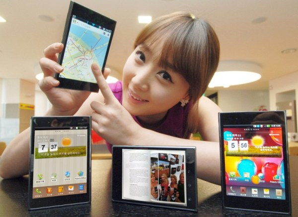 LG's Massive Smartphone Stars in Video Demo