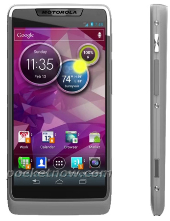 Motorola's First Android 4.0 Smartphone Revealed