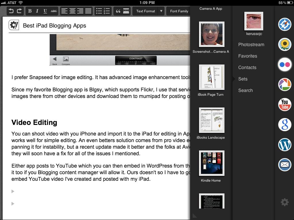 Blogsy Image Insertion