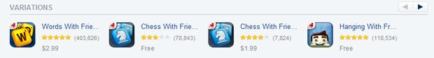 Yahoo App Search Variations