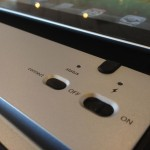 ZAGGfolio keybaord buttons for power and bluetooth