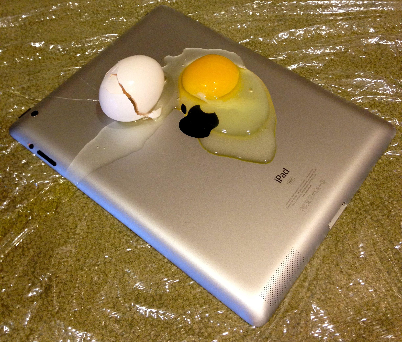 New iPad Fry an Egg