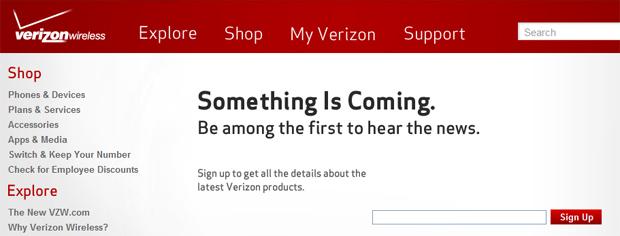 Verizon Wireless -Something Is Coming