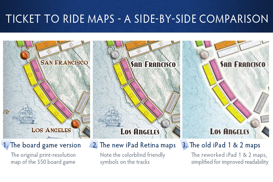 Ticket To Ride Retina Display Graphics