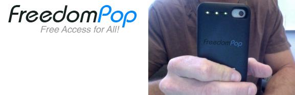 FreedomPop iPhone 4 4S mobile hotspot case