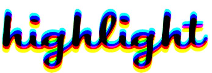 highlight logo large