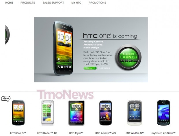 HTC One S Hitting T-Mobile on April 22nd?