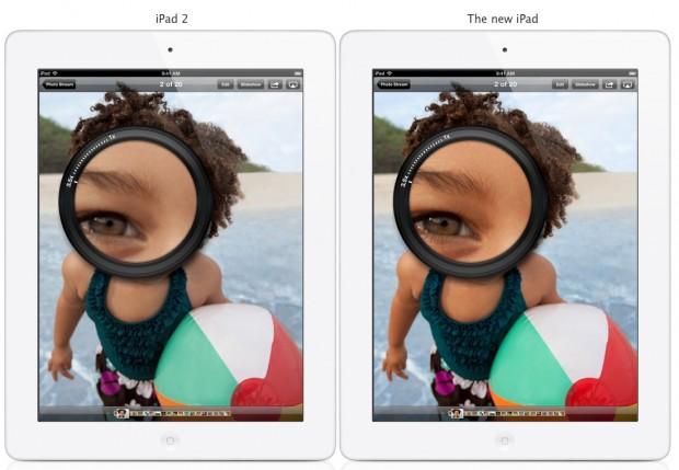 iPad Retina Display Photo