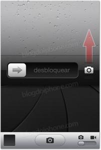iOS 5.1 Camera Slider Lockscreen